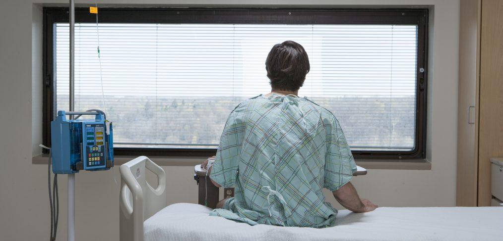 Patient at a Hospital